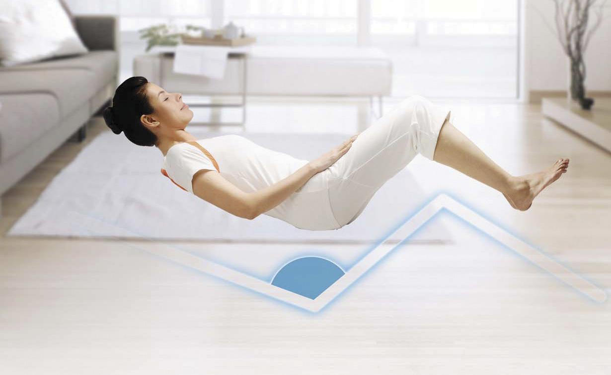 massagefåtölj - zero gravity