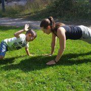 träna med barn - Bild 1