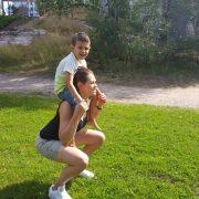 träna med barn - Bild 2