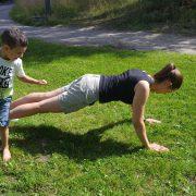 träna med barn - Bild 5