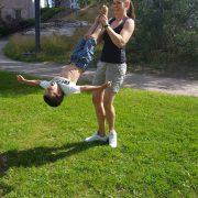 träna med barn - Bild 8